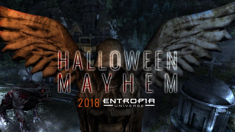 Halloween Mayhem 2020 Entropia events